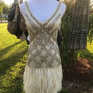 Sue Wong 20's great gatsby flapper wedding dress